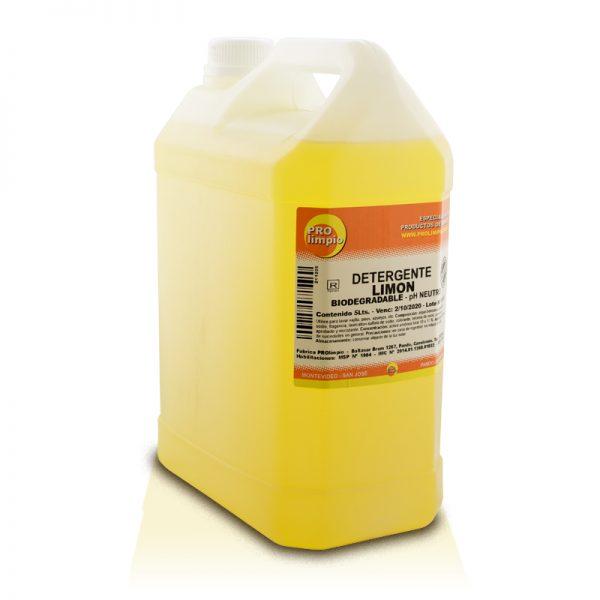 detergente limon