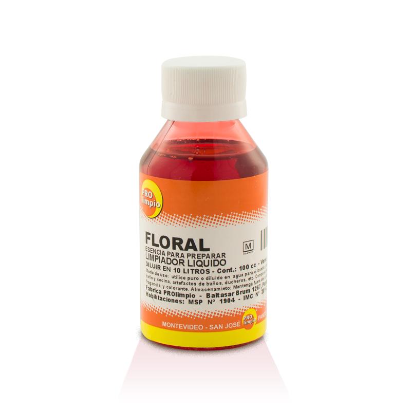 09d1ee146 Esencia para Preparar Limpiador Líquido Floral 100ml - Prolimpio