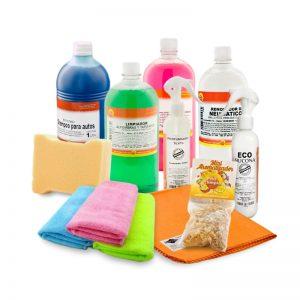kit de limpieza de autos